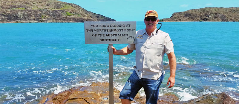 Most Northern Point in Australia